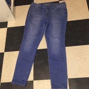 Medium blue Old Navy Rockstar Jeans